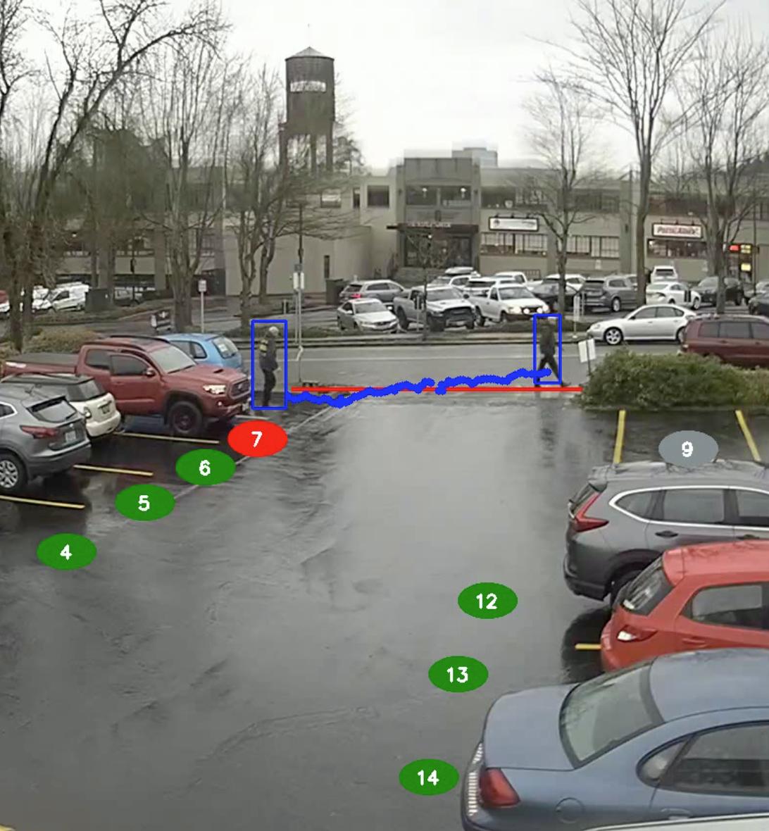 Customer Parking Only / Walk-Off Violation
